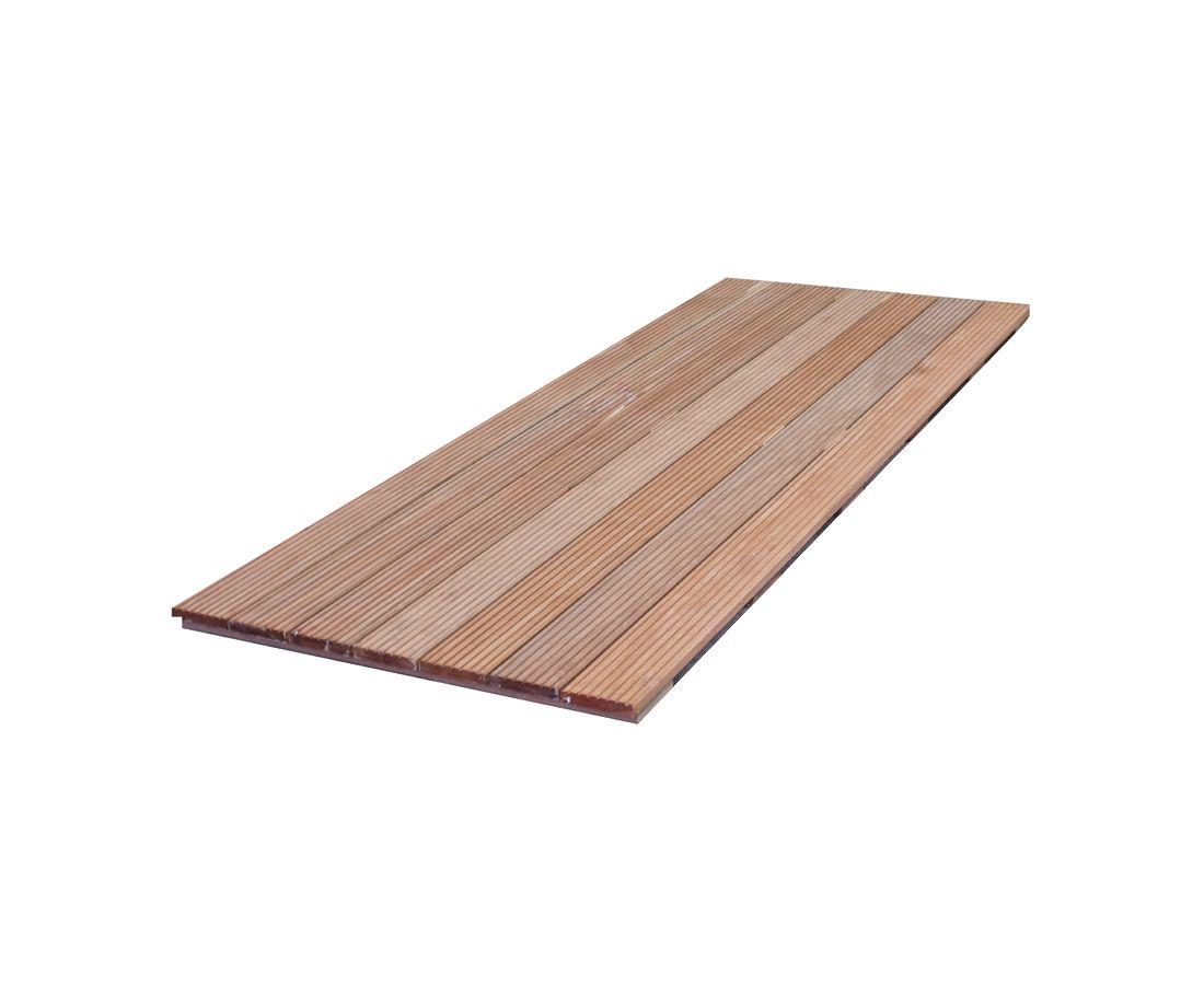 Houten Tegels Tuin : Houten tegels 50x50 100x100 cm terrastegels hout