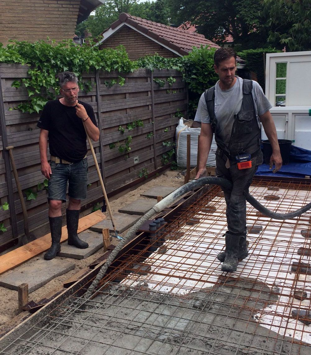 Online Beton bestellen voor vloer of fundering per kuub