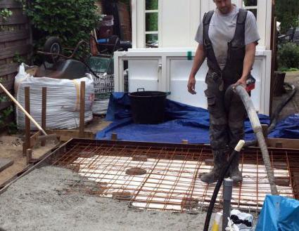 Prijs betonvloer met vorstrand