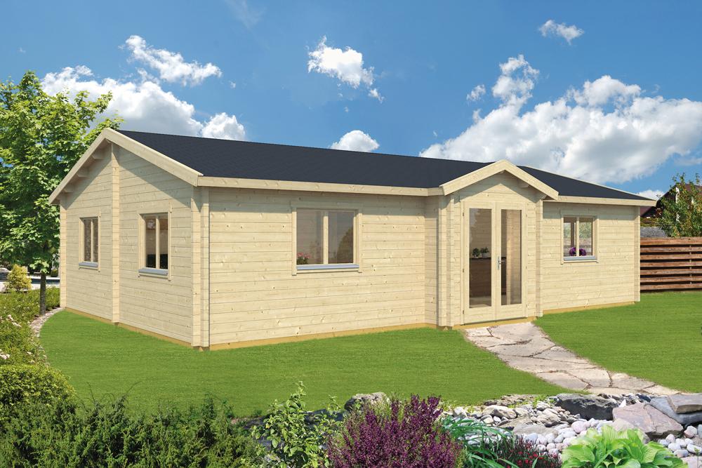 Prefab Woning Prijzen : Prefab houten woning blokhut huis hout bouwpakket kopen