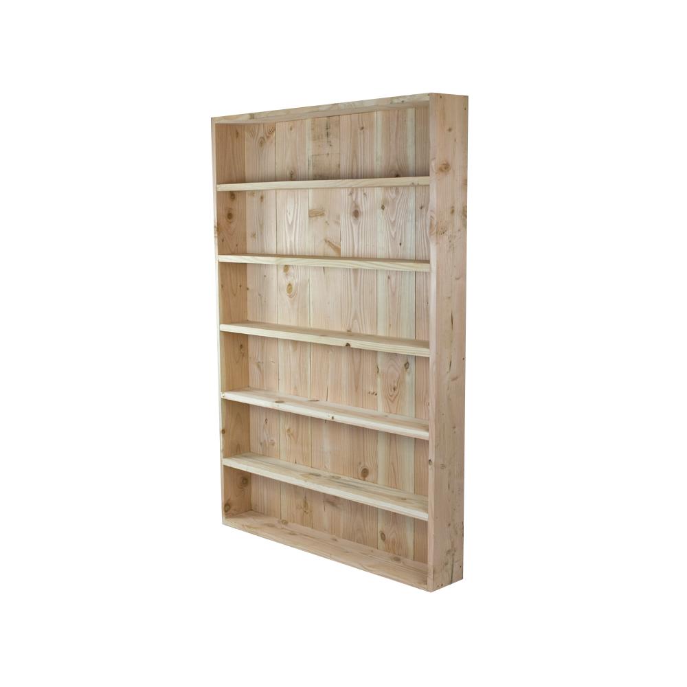 boekenkast lariks douglas hout kant en klaar meer fotos