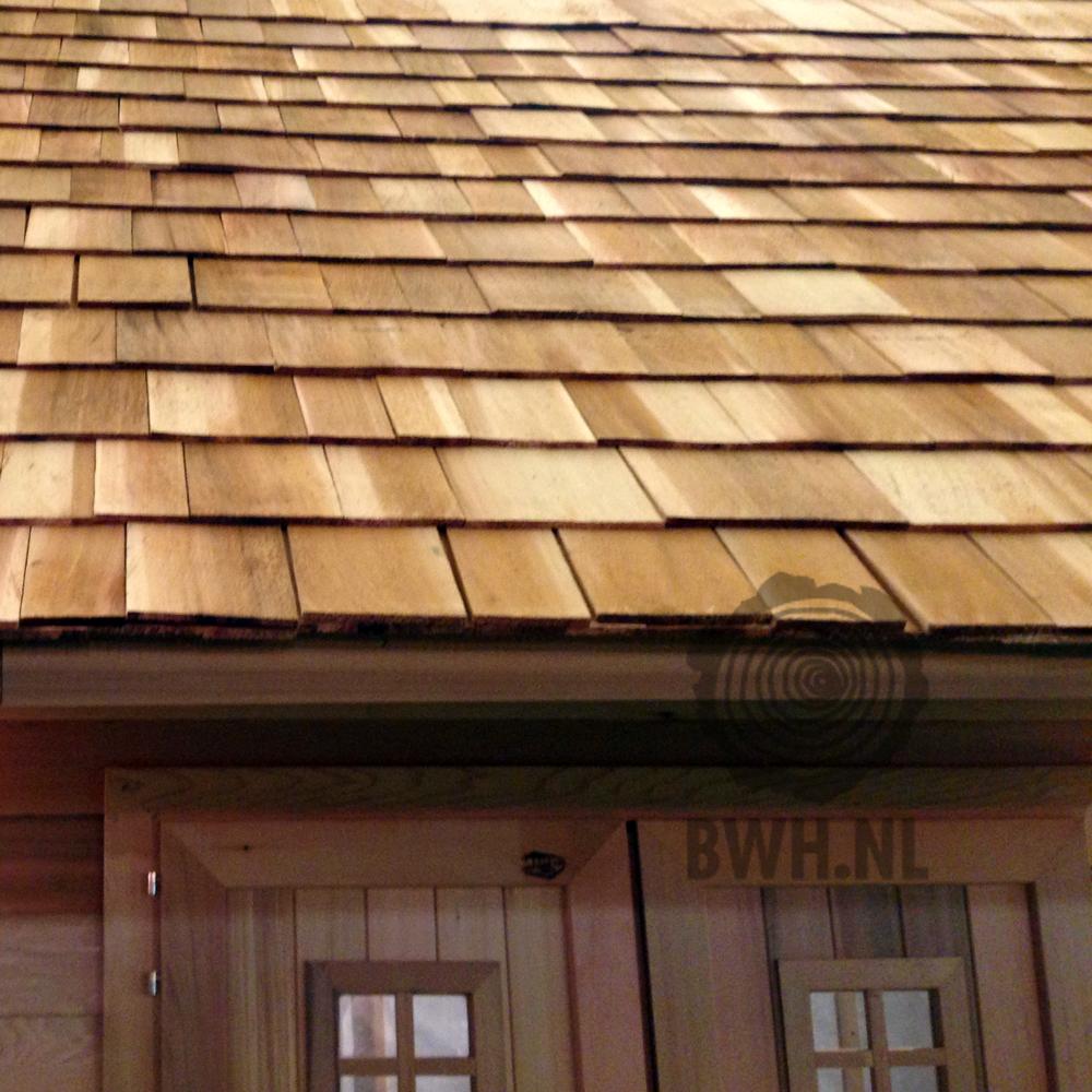 Cedar Shingles Dak (3 laags) ceder houten pannen prijs 1 m2