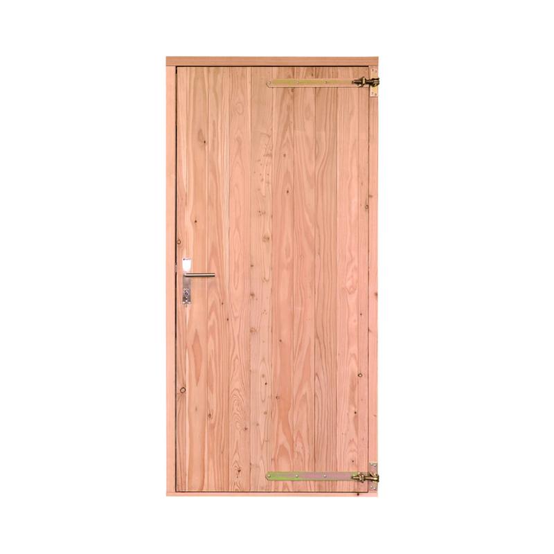 Deur voor blokhut en tuinhuis lariks douglas 97 x 200 cm - X houten ...