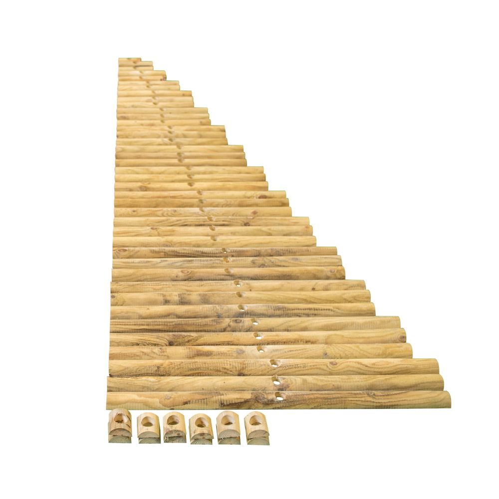Doe het zelf kerstboom van hout maken 4 delige startersset for Zelf meubels maken van hout