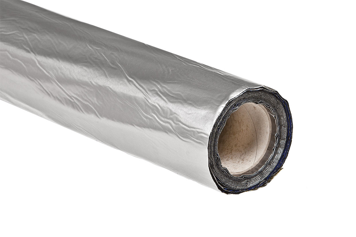 Easyroofing Aluminium Zelfklevend Dakfolie 5m2 Op Rol Plat Dak
