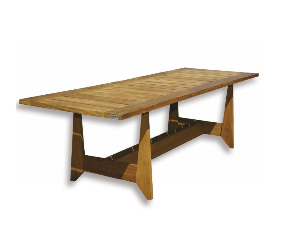 Hardhout Eettafel voor buiten 75 x 90 x 266 cm Buitentafels