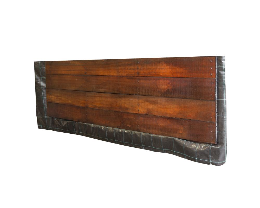 hardhout beschoeiingsschot keerwand 300 x 80 cm schot hoog. Black Bedroom Furniture Sets. Home Design Ideas