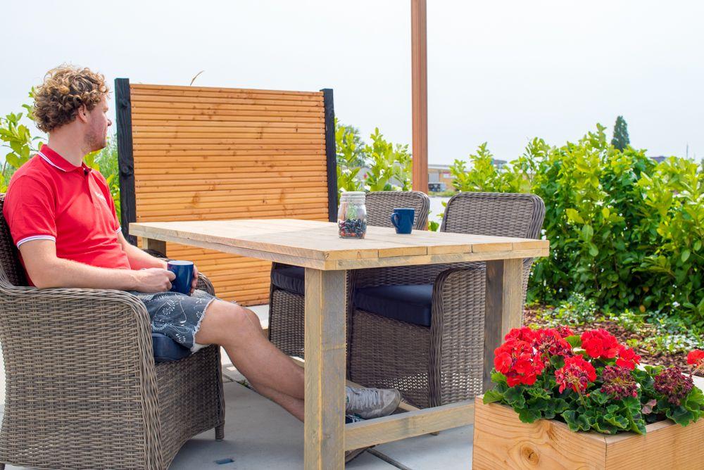 Steigerhout kloostertafel houten tafel cm
