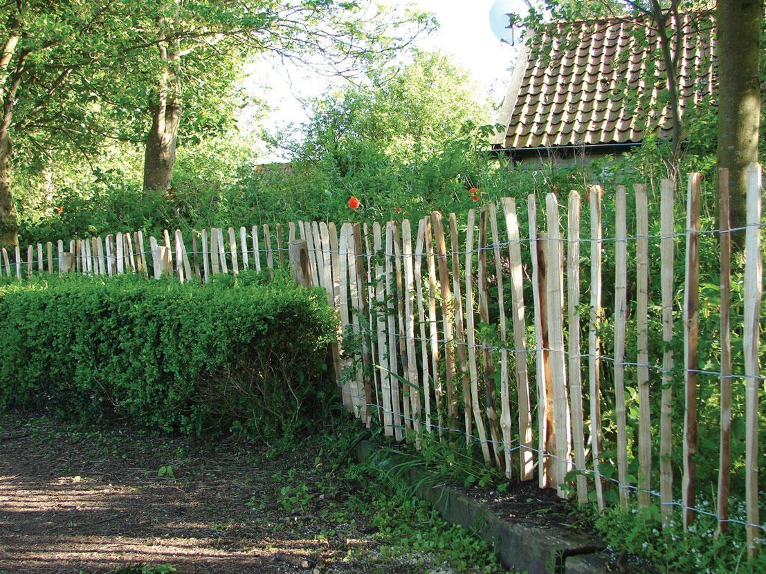 Tuinhek kastanjehout engels 460 x 90 cm for Poolfolie 460 x 90