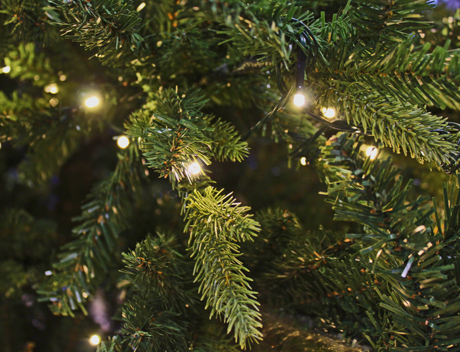 Kunstkerstboom 4 meter LED verlichting grote kerstboom 400 cm