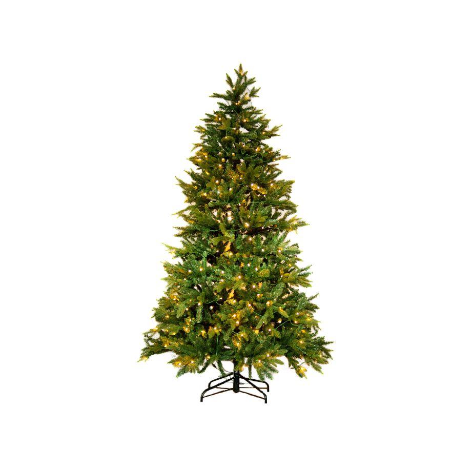 Kunstkerstboom met LED verlichting 360 cm