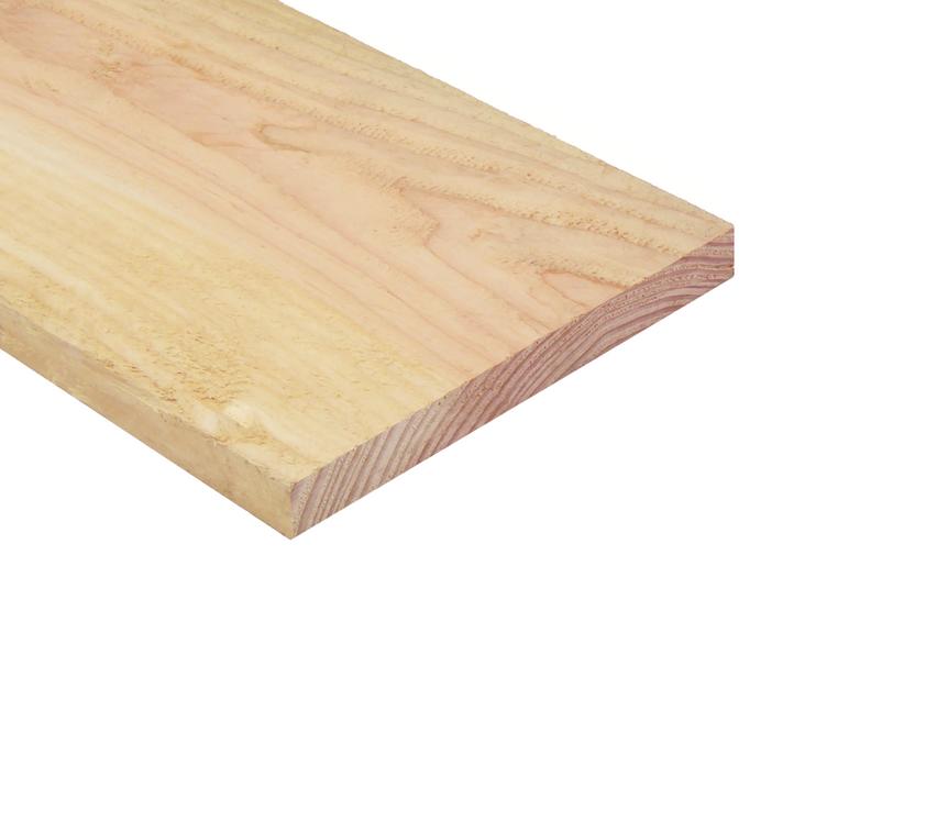 Lariks douglas plank 2 1 cm dikte 20 cm breed 3 tot 5 meter for Ladenblok 1 meter breed