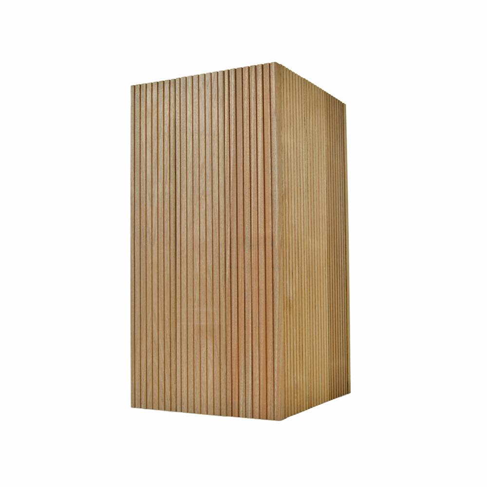hoge plantenbak bankirai hardhout 35 x 48 x 85 cm paradera. Black Bedroom Furniture Sets. Home Design Ideas
