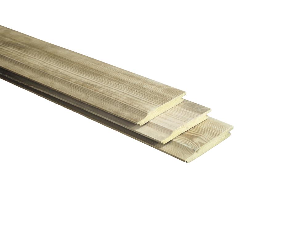 Houten Rabatdeel Geimpregneerd Grenen 18mm tot 5 meter