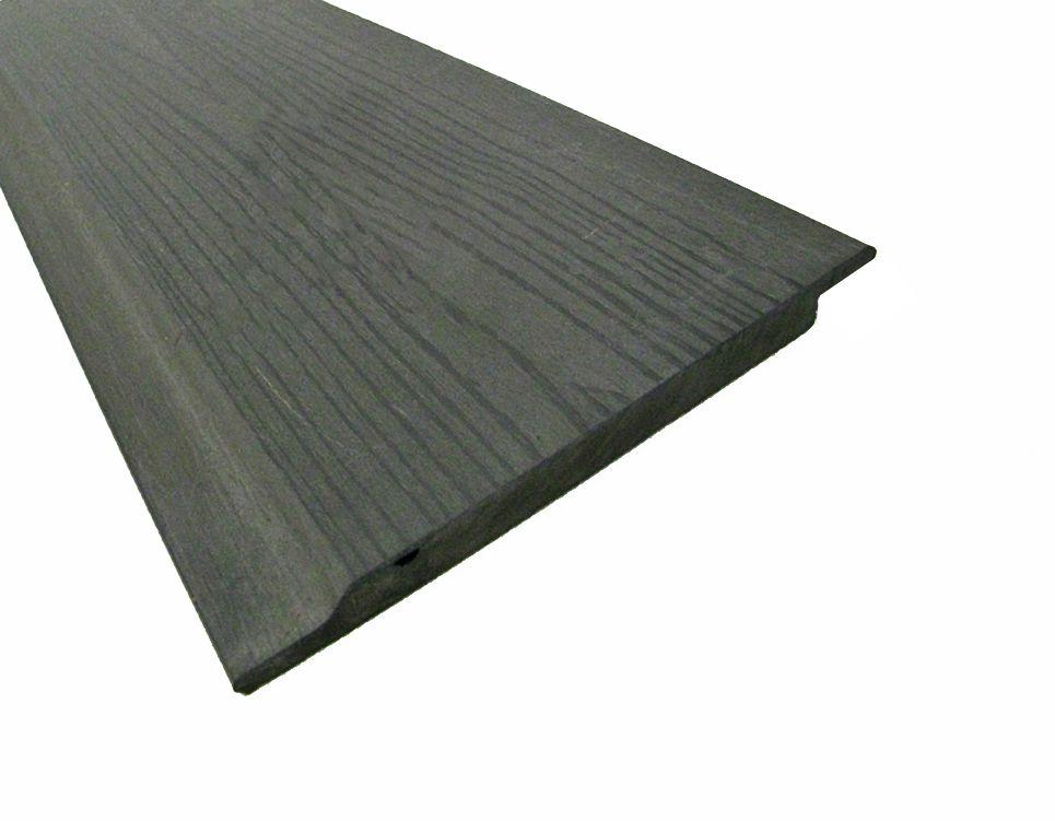 Kunststof Composiet Rabatdelen Grijs 1.2 x 16.4 x 300 cm FSC