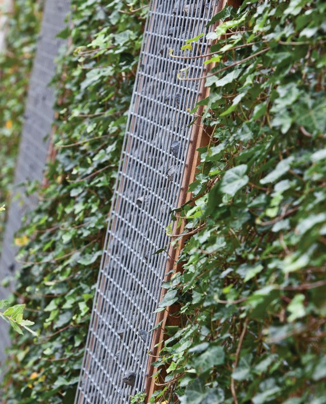 Schanskorf Stalen Gaas 180 x 90 cm Muur van rotsblokken en keien