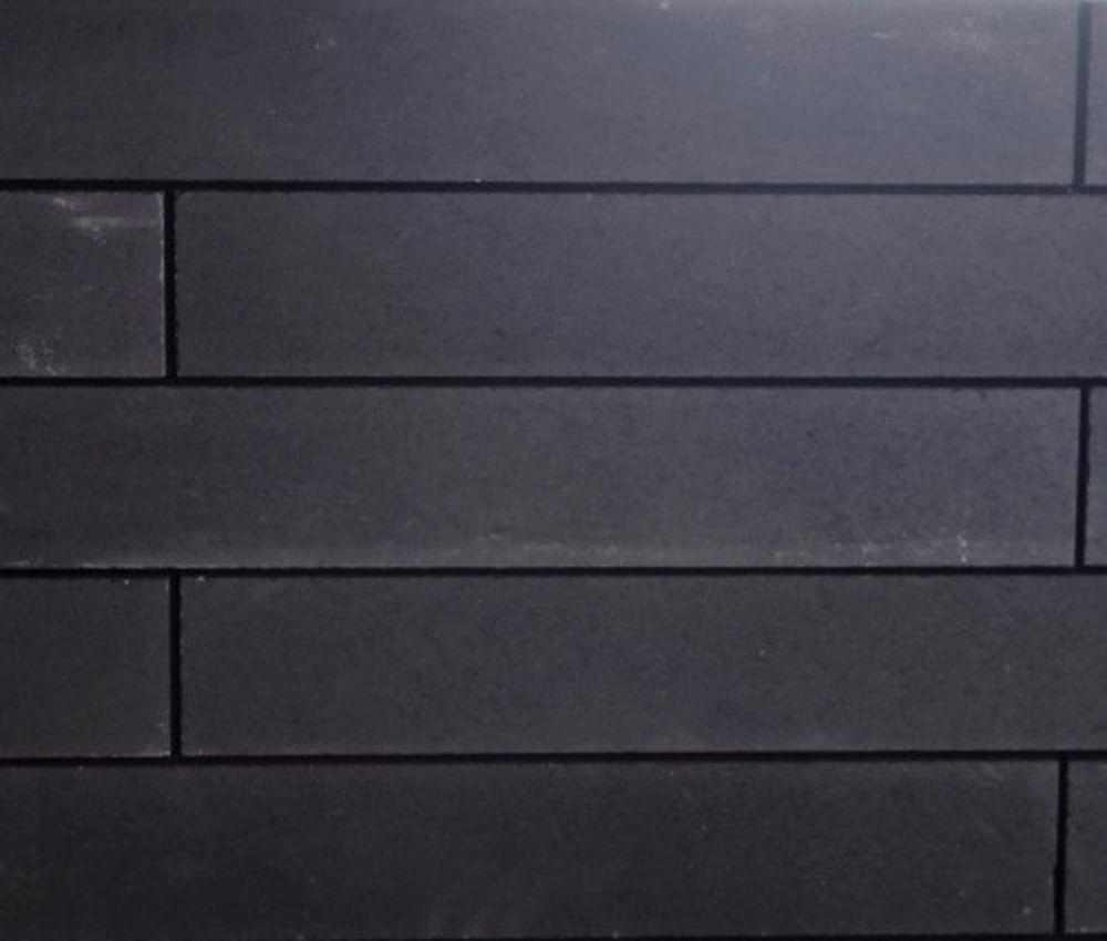 Stapelblokken Tuin Linia Antraciet Zwart Strak 10 x 15 x 60 cm