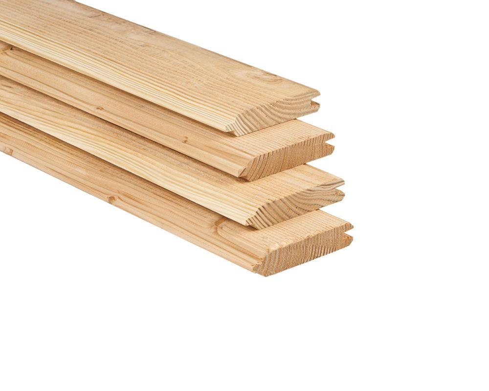 Plank 150 Cm.Stapelschutting Plank Lariks 2 8 X 14 5 X 150 Cm