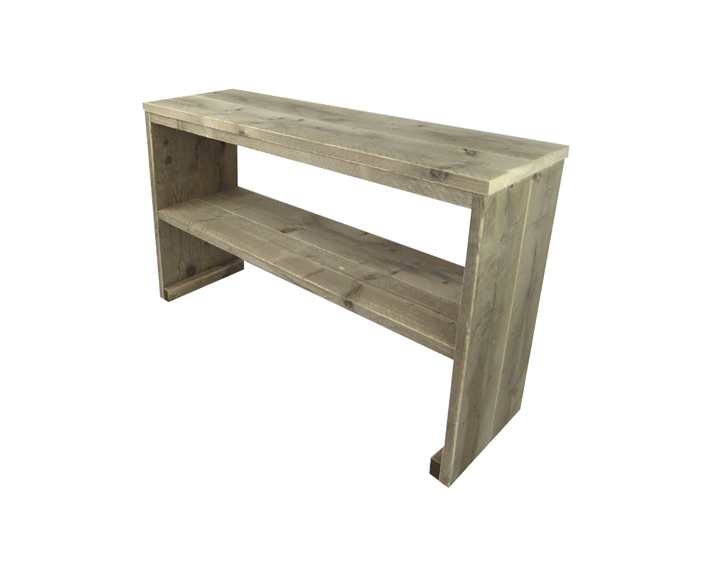 Steigerhout sidetable tafel maatwerk side table for Sidetable steigerhout