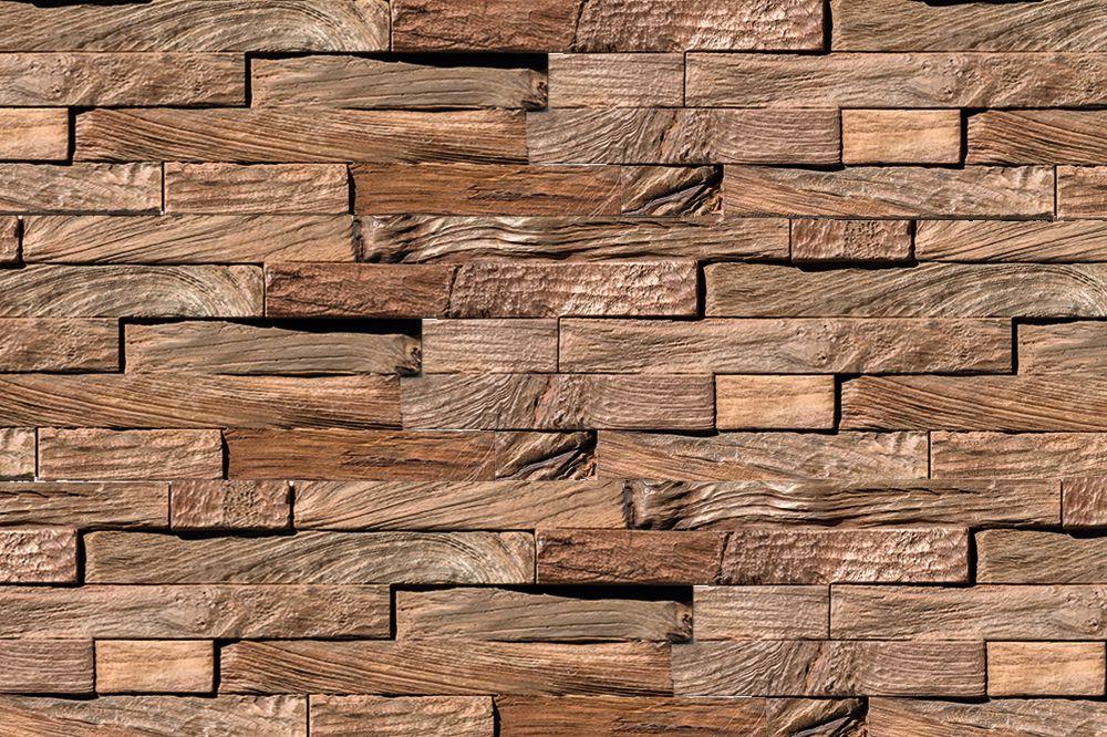 houten muurbekleding teak - plakhout interieur