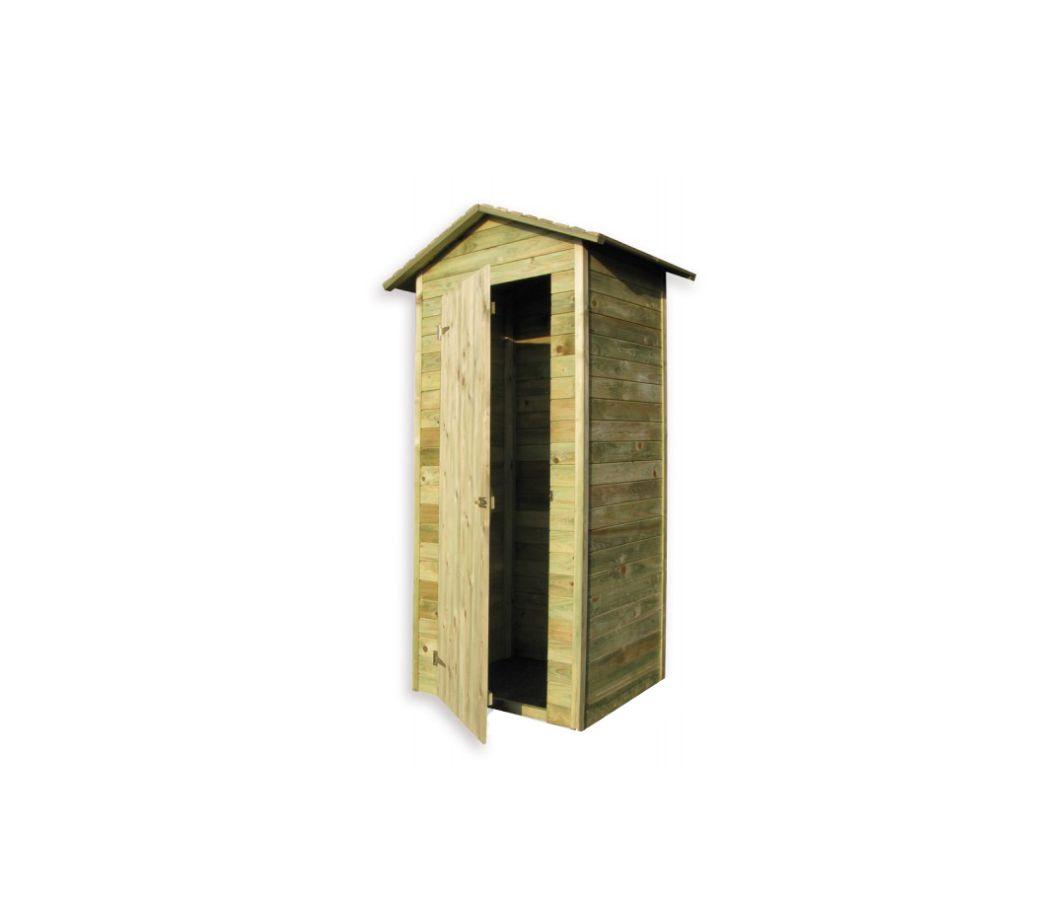 tuinkast hout 100 x 70 x 220 cm elephant tuin kast. Black Bedroom Furniture Sets. Home Design Ideas