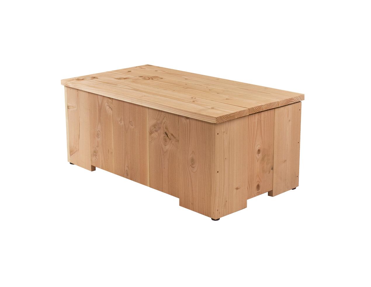 Lariks douglas houten opbergkist 105 x 60 x 45 cm - X houten ...