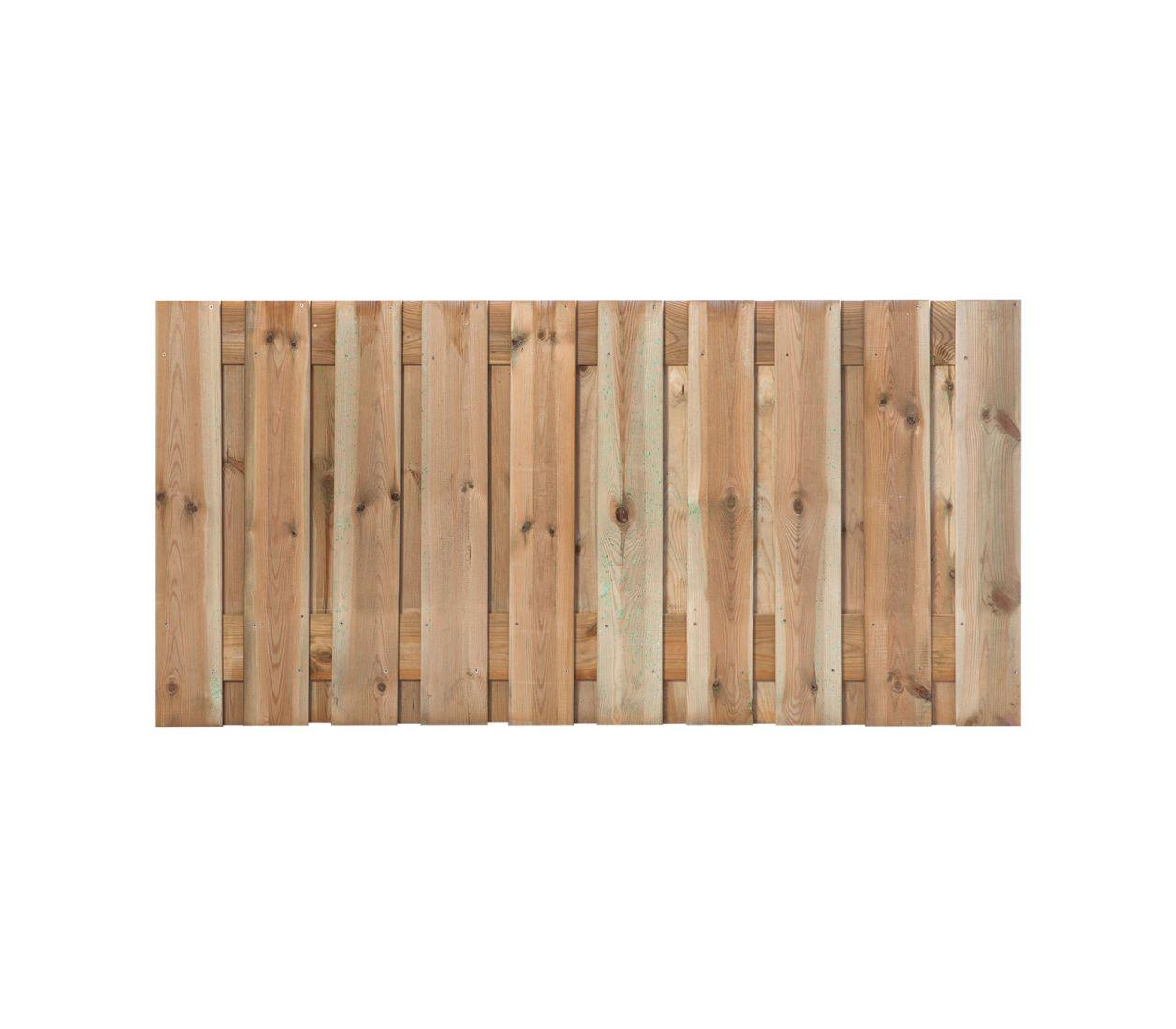 Half houten tuinscherm zutphen 180 x 90 cm geimpregneerd for Schreibtisch 90 x 180