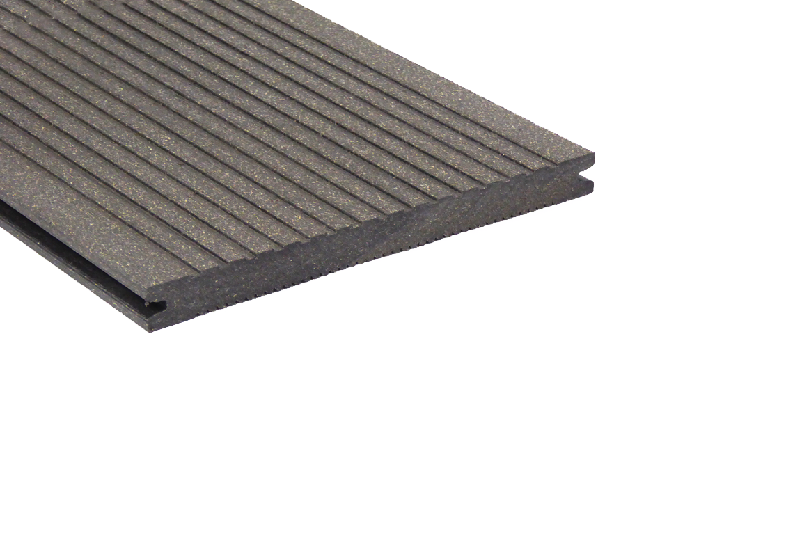 vlonderplank leigrijs composiet megawood 21 x 242 mm classic. Black Bedroom Furniture Sets. Home Design Ideas