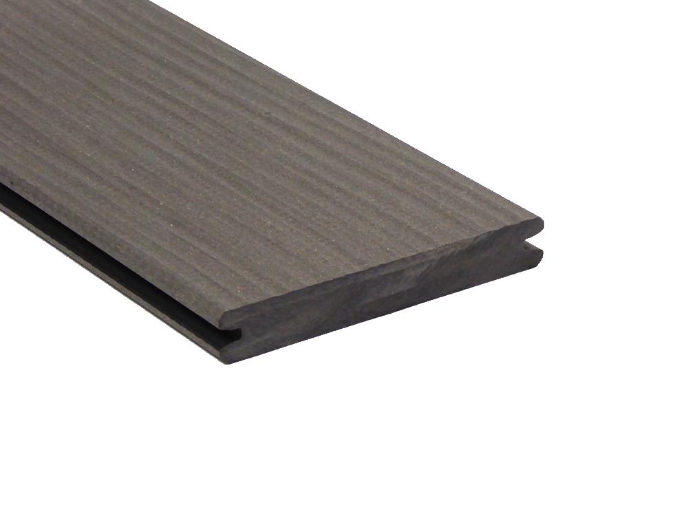 vlonderplank leigrijs composiet megawood 21 x 145 mm. Black Bedroom Furniture Sets. Home Design Ideas