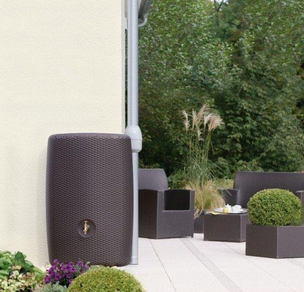 kunststof regenton design regentonnen kopen. Black Bedroom Furniture Sets. Home Design Ideas