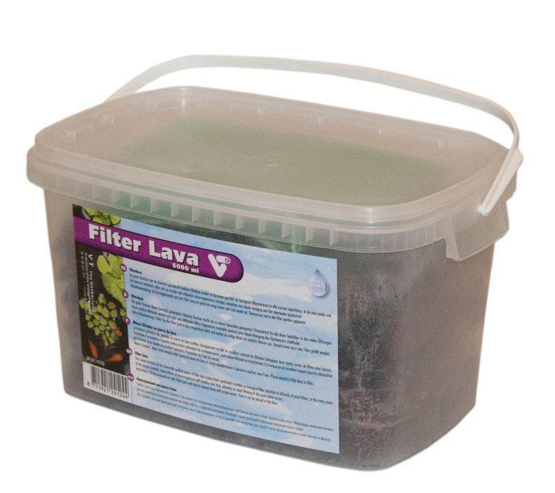 Filter lava kopen vt vijver filtersubstraat 5000 ml for Filter voor vijver