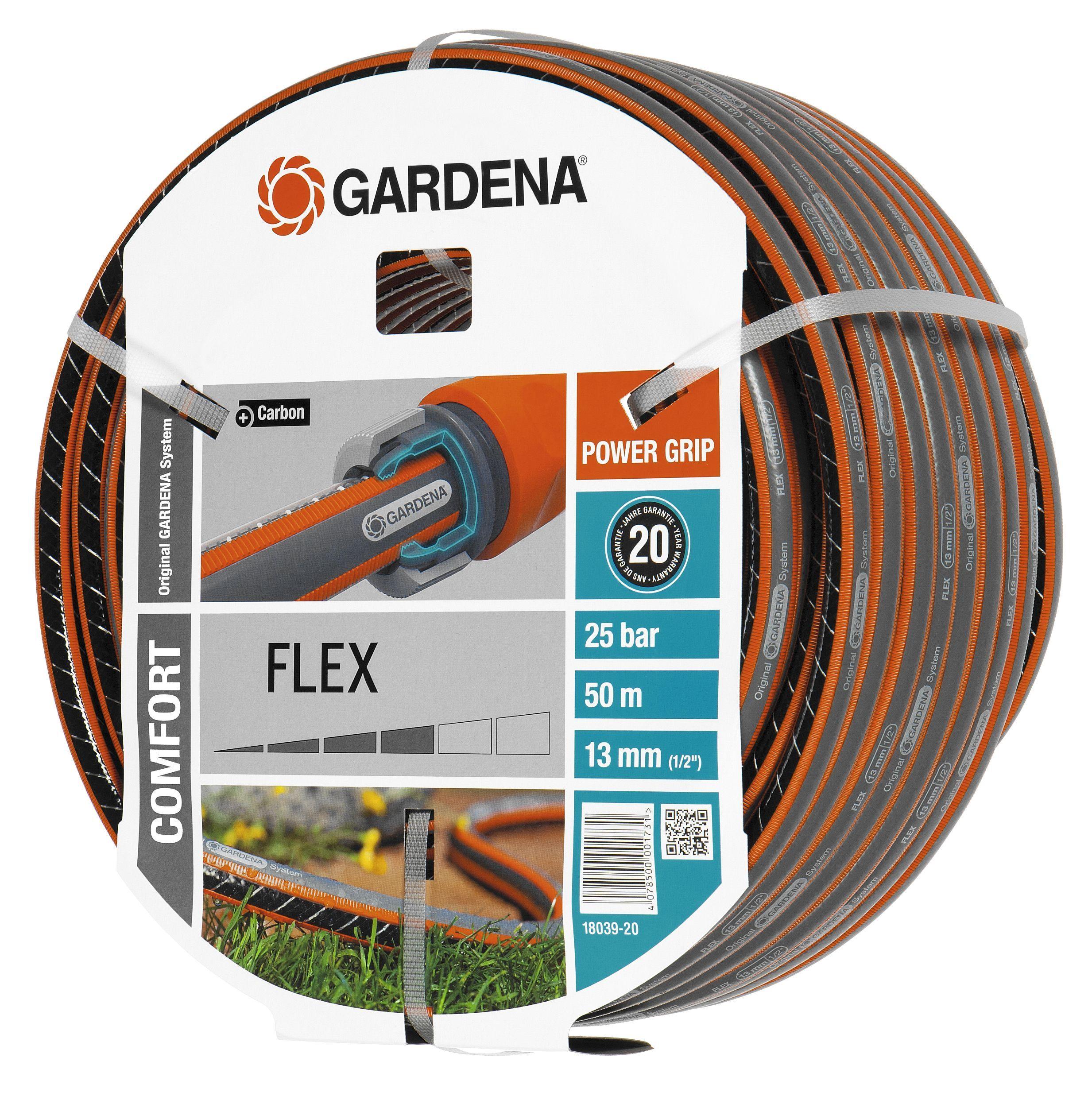 tuinslang kopen gardena tuinslangen flex 50 meter online. Black Bedroom Furniture Sets. Home Design Ideas