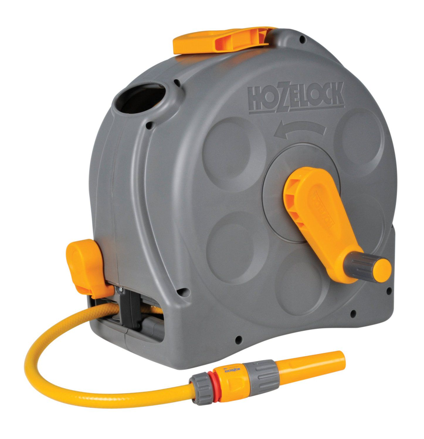 Hozelock Slangbox/-Muurhaspel 2-in-1 Incl. 25m Slang