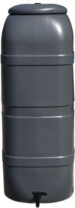 Kunststof Regenton Slim Line Antraciet 100 Liter
