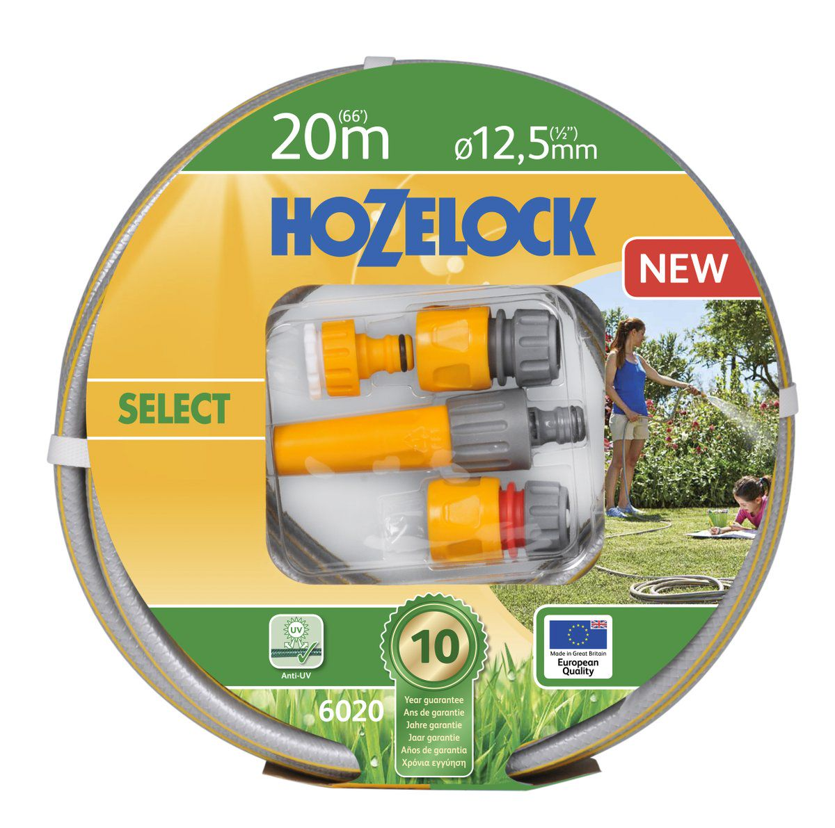 Hozelock Tuinslang Select Startset 20 Meter