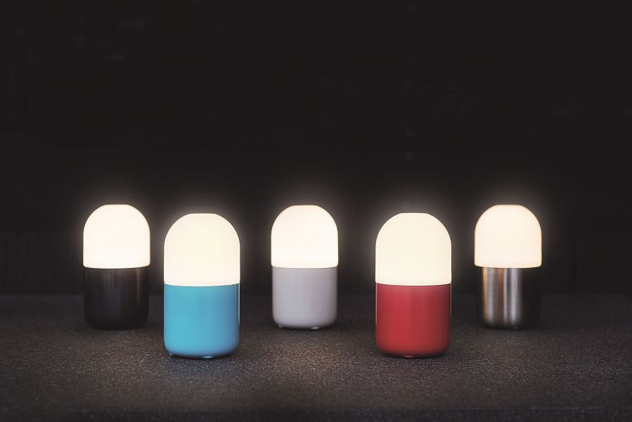 smooz tafellamp bean rood online kopen online smooz winkel. Black Bedroom Furniture Sets. Home Design Ideas