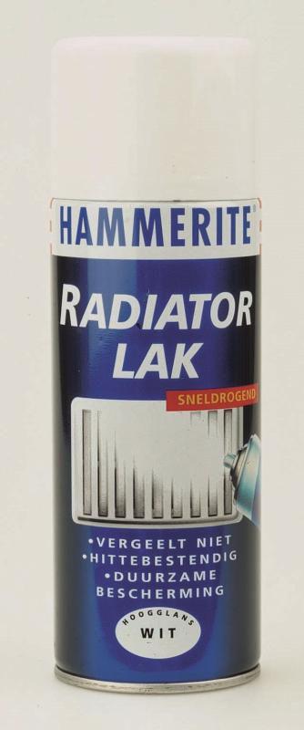 Hammerite Radiatorlak Wit Spuitbus - 400 ml - Haxo - Doe ...