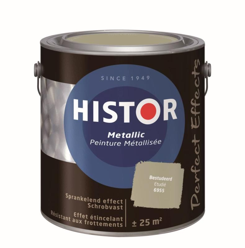 Histor Muurverf Perfect Effects Metallic 6955 2.5 Liter