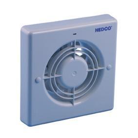 Wc ventilator met timer