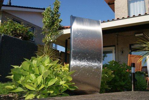 Waterornament rvs caracas waterornamenten tuin kopen for Waterornament tuin