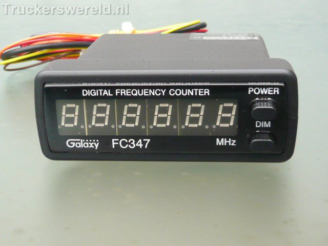 Cb Frequency Counter : Galaxy digital frequency counter truckerswereld