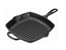 Le Creuset grillpan vierkant zwart 26 x 26 cm