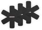 Le Creuset Pannenbeschermers zwart3-Delig