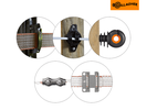 Isolatoren en verbinders voor een paardenafrastering