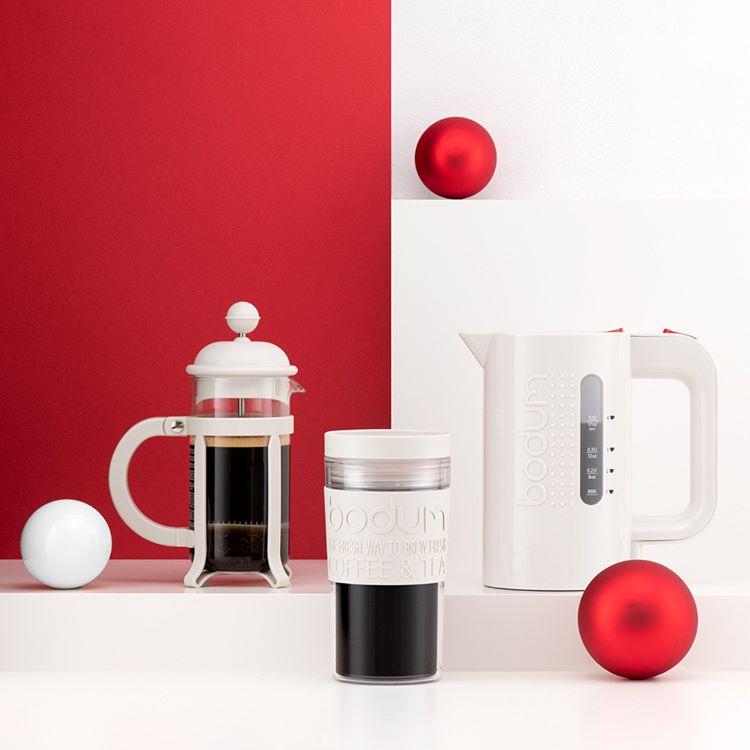 Bodum Travel Mug White Transpa 0 35