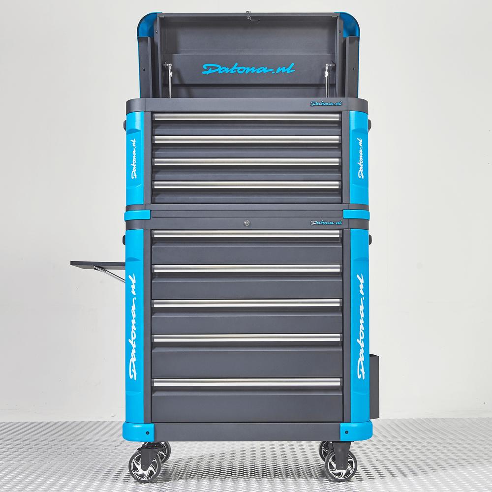 Verrijdbare gereedschapswagen met topkist XL - Premium serie 4