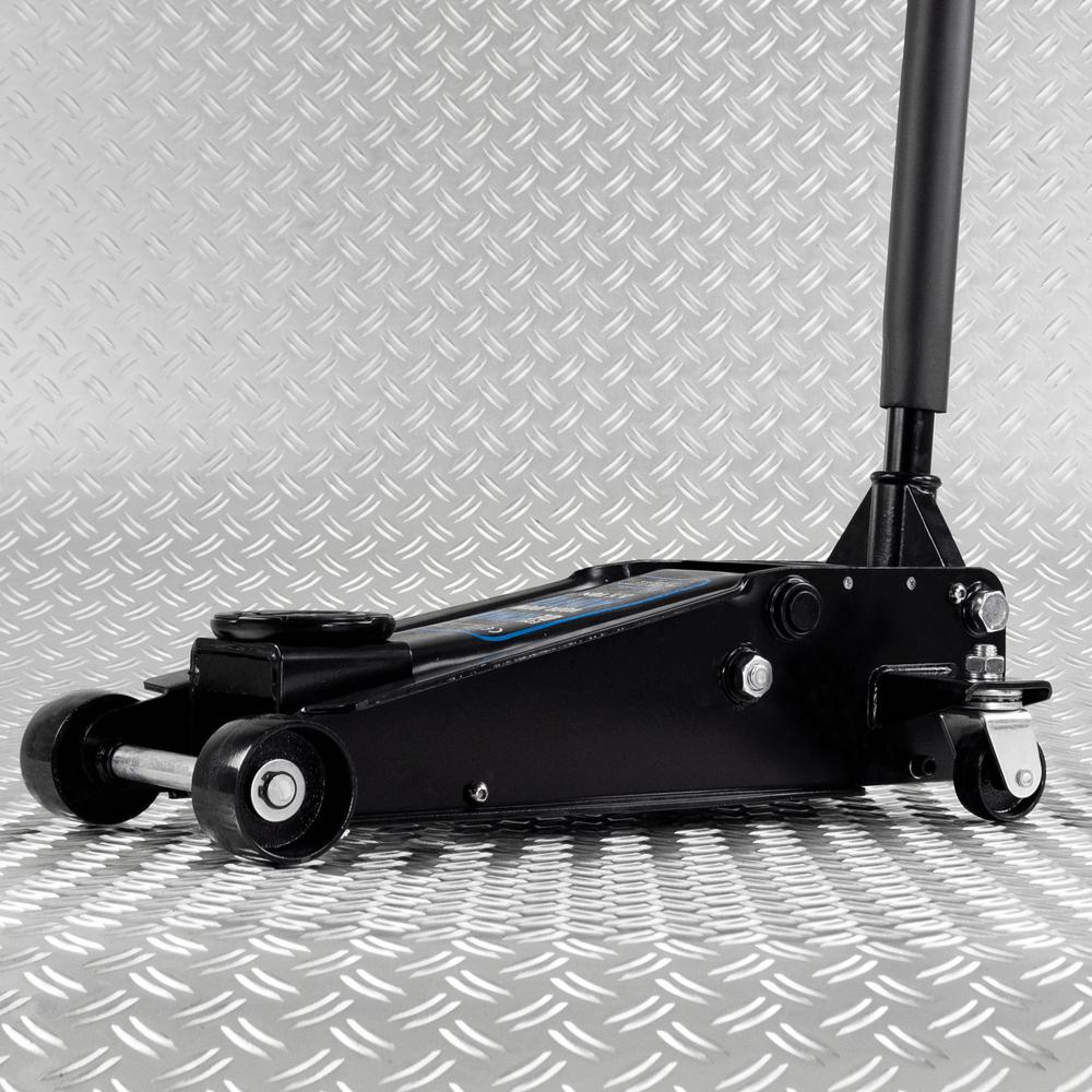 Hydraulische autokrik - 2,5 ton + Verrijdbare garage ligkar extra lang 8