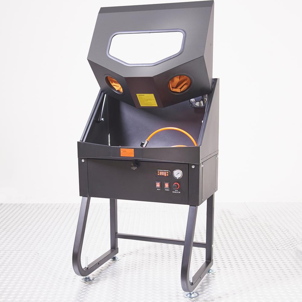 Hogedruk onderdelenreiniger met thermostaat 3