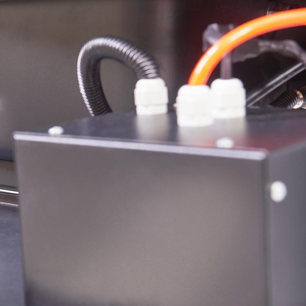 Hogedruk onderdelenreiniger met thermostaat 13