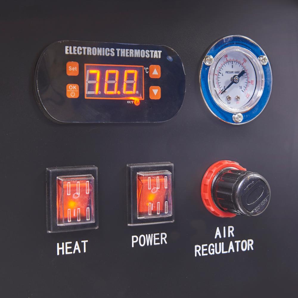 Hogedruk onderdelenreiniger met thermostaat 8